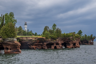 Devil's Island Lighthouse - WI