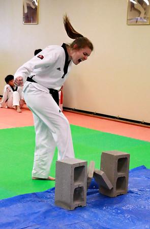 Black Belt Test (April 19, 2008)
