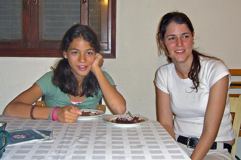 Naama Bahar,Ella Niv, Kfar Netter, 20Oct06.
