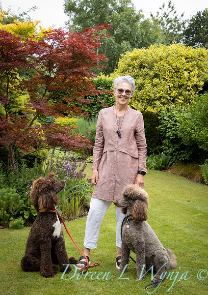 Jacky O'Leary designer and her poodles_2883.jpg