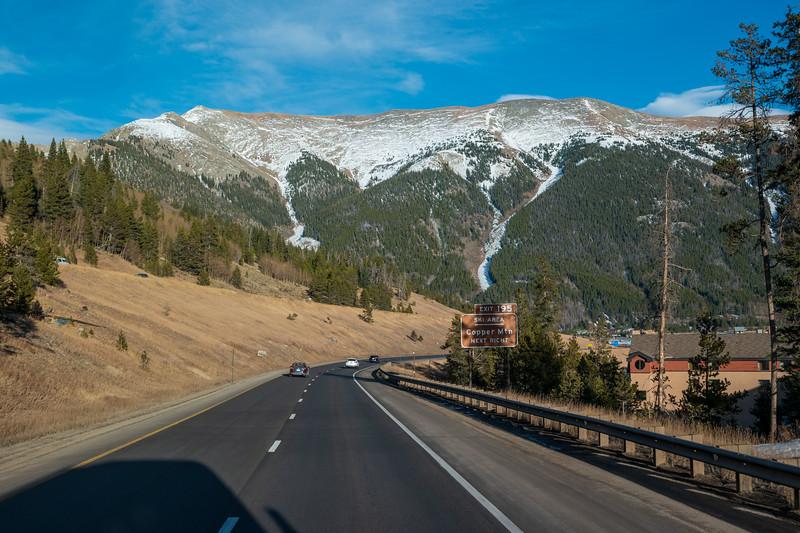 Colorado Copper Mountain Ski Area