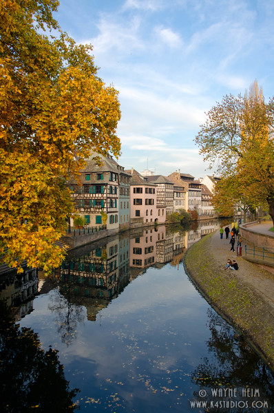 Strasbourg Canal  Photography by Wayne Heim