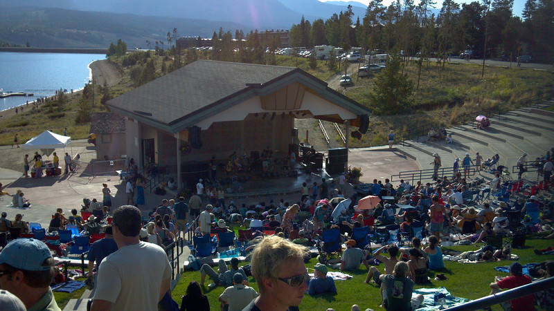 Bluegrass Concert at the Dillon Ampitheater