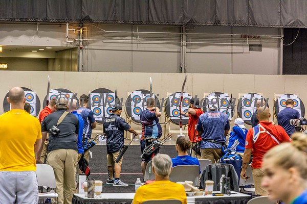 Warrior Games - Archery