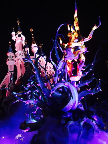 Maleificent's Dragon & Sleeping Beauty's Castle