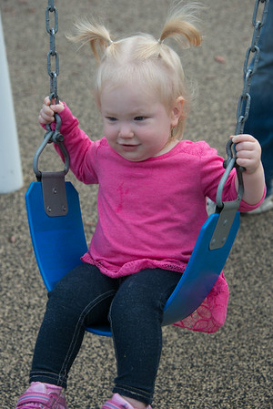 Addie at the Park 8-16-14