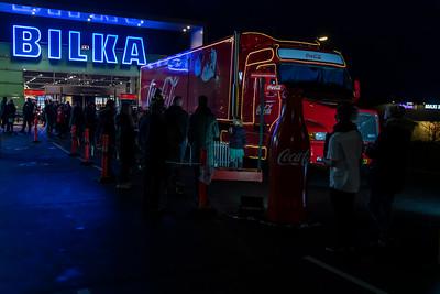 01-12-2018 Coca Cola bil ved Bilka