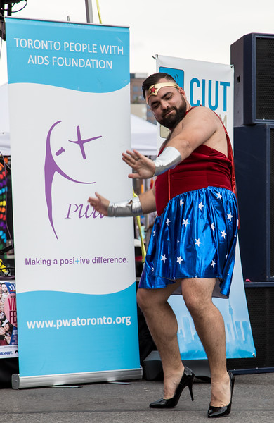 High Heel Strut 2017 - Contestant Dance-off: Francis