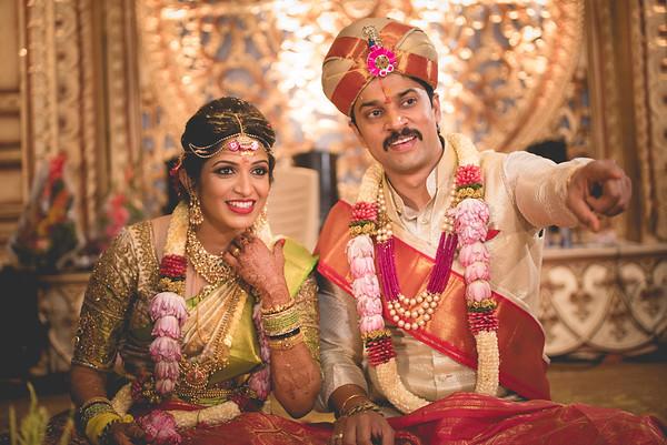 Poojitha and Sandeep