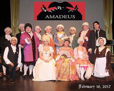 BEVERLY THEATRE GUILD  - 'Amadeus'   February,  2017