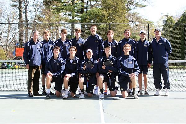 Varsity Boys Tennis Spring 2015