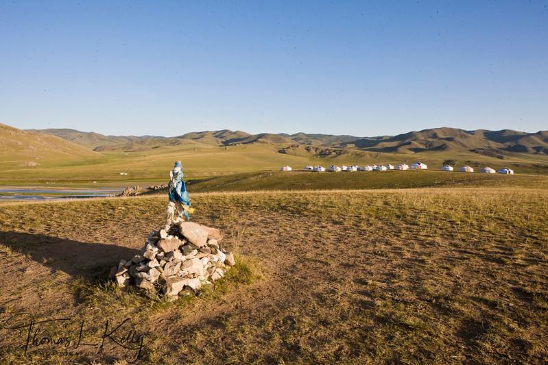 Monkhe Tingri camp. Mongolia
