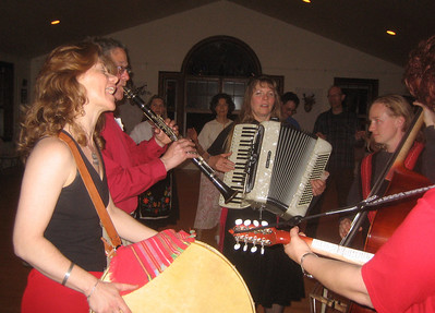 Local folkdance parties