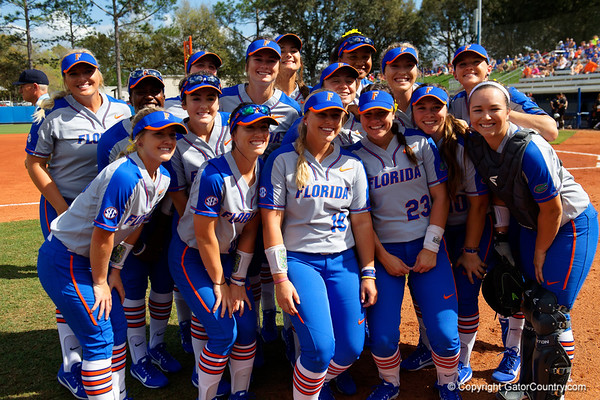 Florida Gators Softball vs Maryland Terrapins  02-24-2018