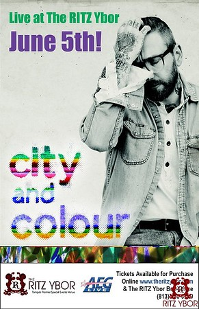 City and Colour June 5, 2012