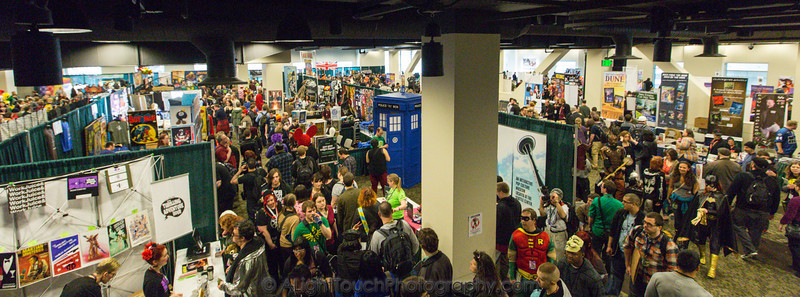 Booths, Vendors, and Halls