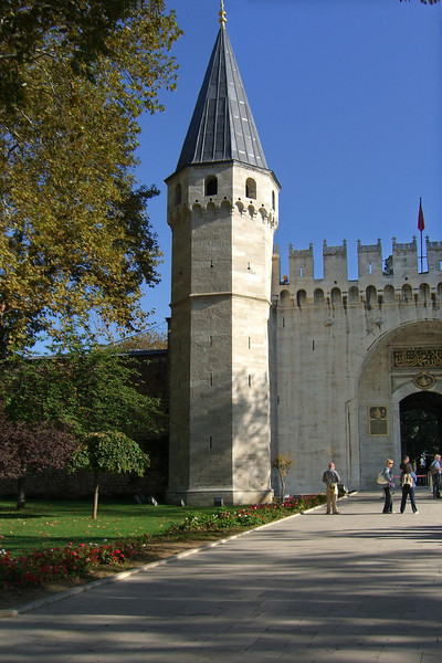 4-Topkapi Palace, Gate of Salutations