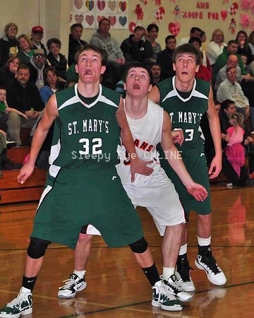 20110218 SleepyEye vs St. Mary's Boys Basketball