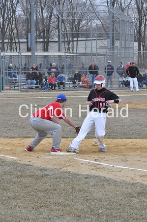 Morrison at Fulton baseball (April 5, 2013)