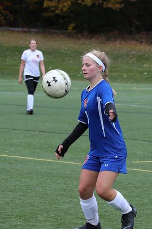Girls' JV Soccer vs. KUA | October 31