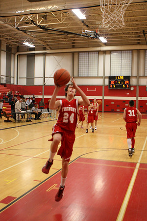 Boys 8th Grade Basketball 2010-2011 - 12/1/2010 Orchard View