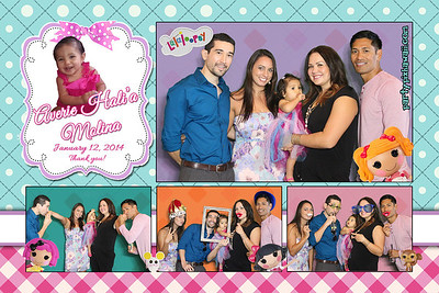 Averie's 1st Birthday (Multi-Photo Collage)