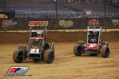 Gateway Dirt Nationals - Midgets - 11/30/18 - Michael Fry