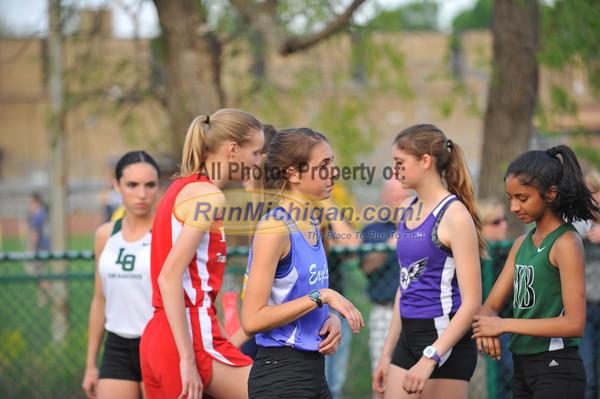 Girls' 3200 - 2015 MHSAA T&F Regional 9-1