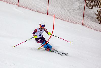 Slalom -  Womens Run Two