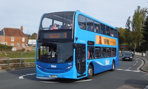 ADL Enviro 40D - blue fleet