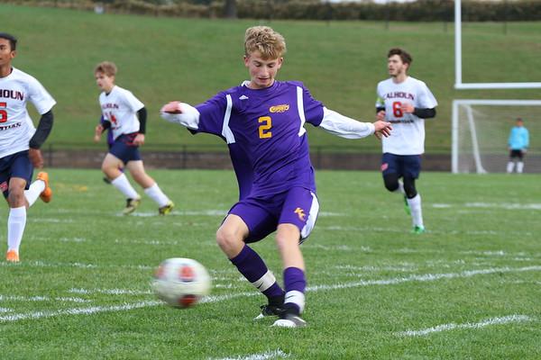 Soccer Boys Districts vs Calhoun - KCHS - 10/17/18