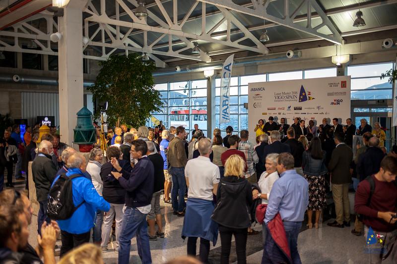CONCELLO DE VIGO ABANCA DEPUTACIÓN PONTEVEDRA Puerto de Vigo Laser Master 2018 VIGO SPAIN * European Championship ( spXIŞ0 e con m e - - -