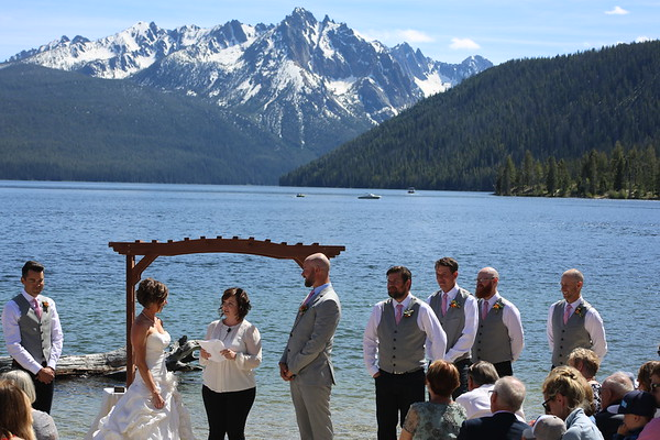 Copple Wedding - Redfish Lake