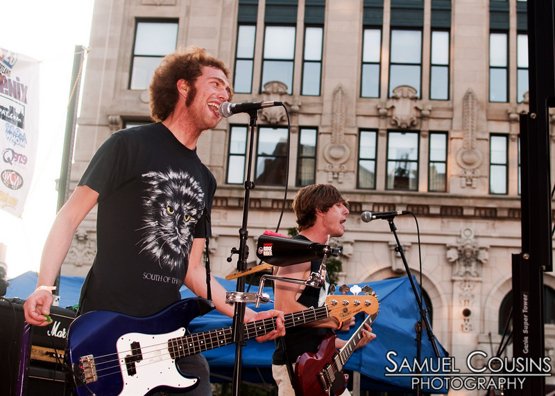 The Leftovers, at the Alive at Five concert series in Monument Square.