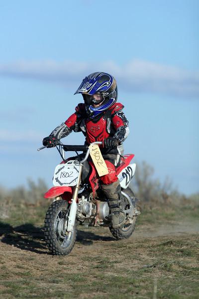 2009 Desert 100 Kids Race #2- Red Bikes