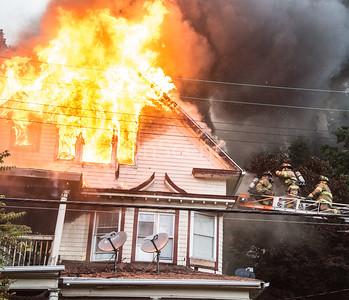 Structure Fire - 81 Walnut St, Waterbury, CT - 6/20/20