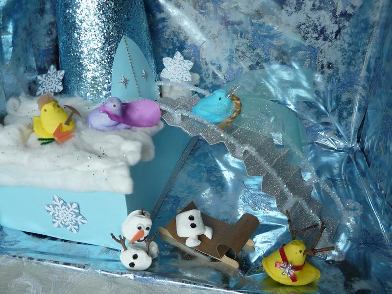 . Frozen: Let it Peep (Erika Riehle 35 & Brian Fagan, 39)
