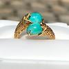 Vintage Bypass Gemstone Ring 16