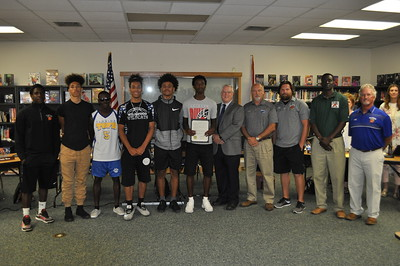 2018 - Resolution for Wildwood Middle High School Boys Basketball Team