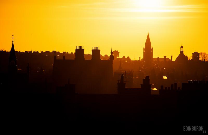Sunburst Rooftops