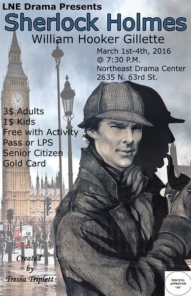 LNE Sherlock Posters