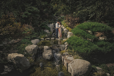 Friendship Garden Engagement- Balboa Park