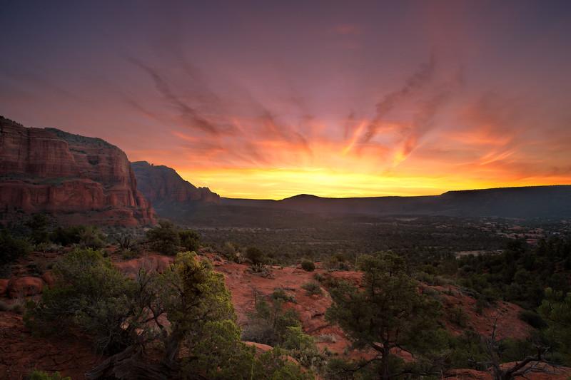Sunrise Hike, Sedona, Arizona