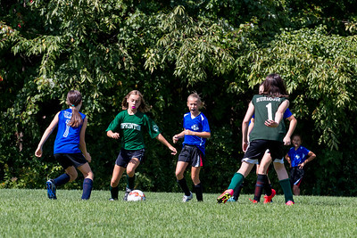 Margaret Soccer Match Warner vs Hopkinton, September 2015
