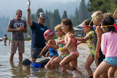 Donner Lake Kids Tri Swim