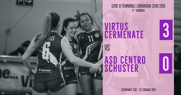 LOM-Df: 17^ Virtus Cermenate - ASD Centro Schuster
