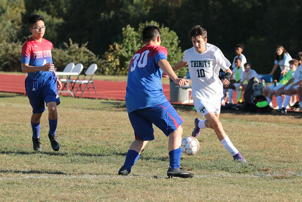 Junior Prep Soccer vs Trinity Episcopal - Oct 11