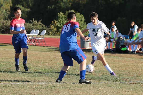 Junior Prep Soccer vs Trinity Episcopal - Oct 11