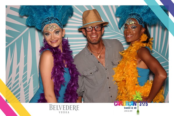 Caribbean 305 with Belvedere Vodka