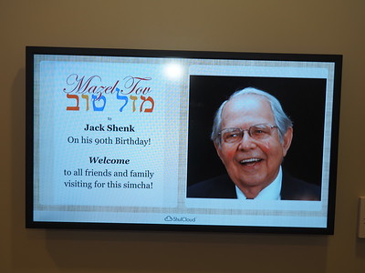 Jack Shenk - Happy 90th Birthday!